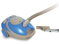 Пылесос с мешком Astor ZW-1518 SB, мощный пылесос для дома astor 1800Вт, компактный пылесос