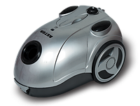 Пылесос с мешком Astor ZW-502 Silver Turbo brush, мощный пылесос для дома astor 1800Вт, пылесос мешковой