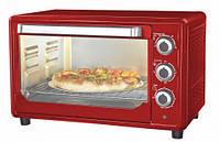 Мини-печь электрическая Astor CZ 1536 red, мини печь духовка для дома, электропечь Astor