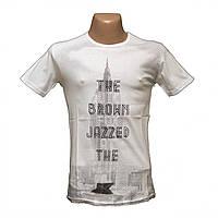 Молодежная мужская футболка хлопок новое поступление пр-во Турция 5214-2