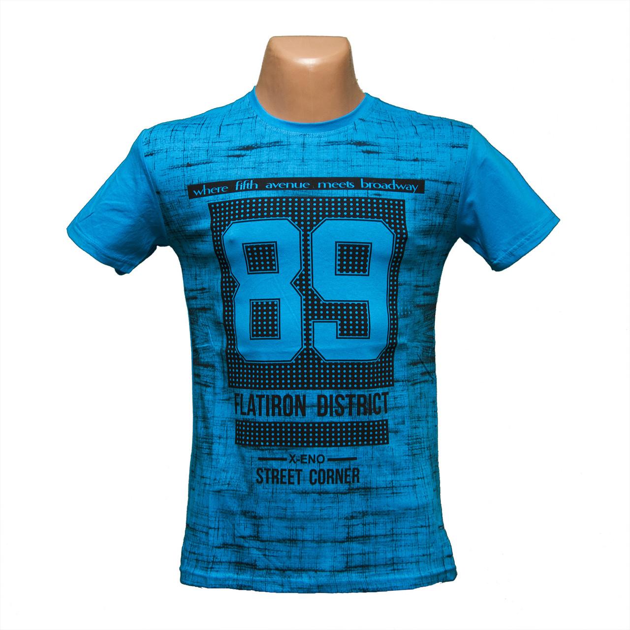 "Молодежная Турецкая футболка ""89"" 5222-2"
