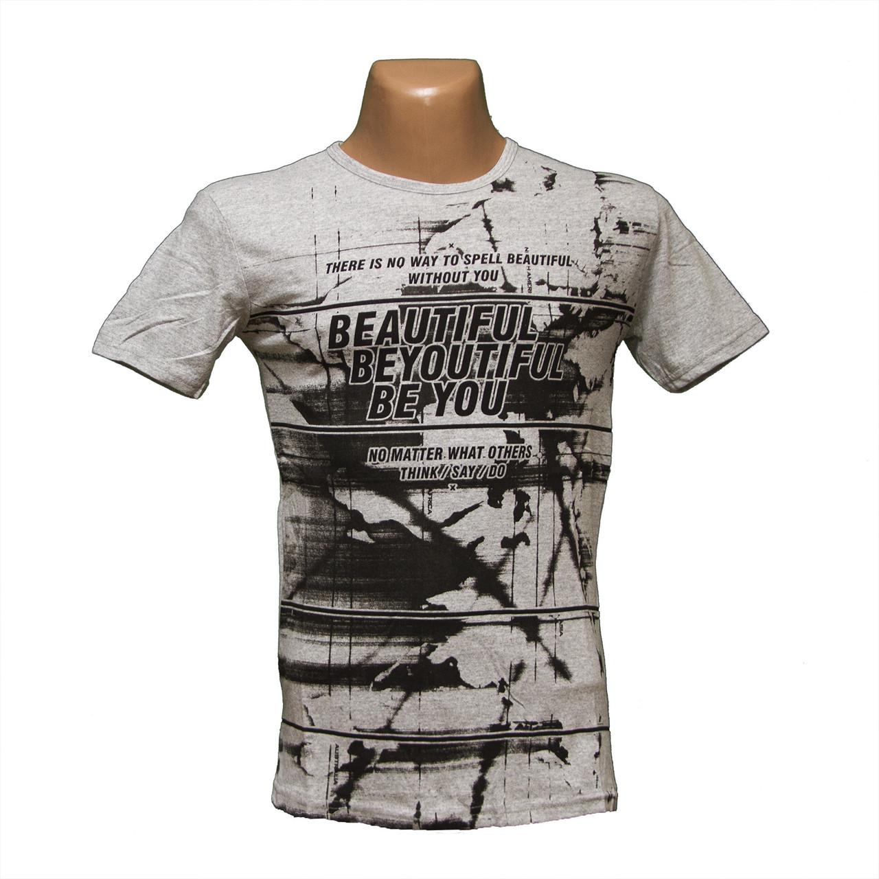 Молодежная Турецкая футболка по низким ценам 5232-1