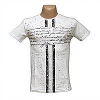 Молодежная футболка модный принт Турция 5235-2