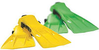 Детские ласты для плавания Intex 55936 2 цвета (размер 35-37)