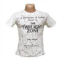 Молодежная мужская футболка хлопок недорого пр-во Турция 5263-1
