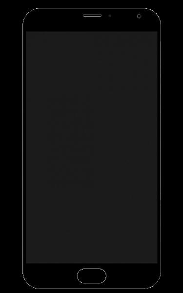 Дисплей (LCD) Meizu MX5 с сенсором чёрный