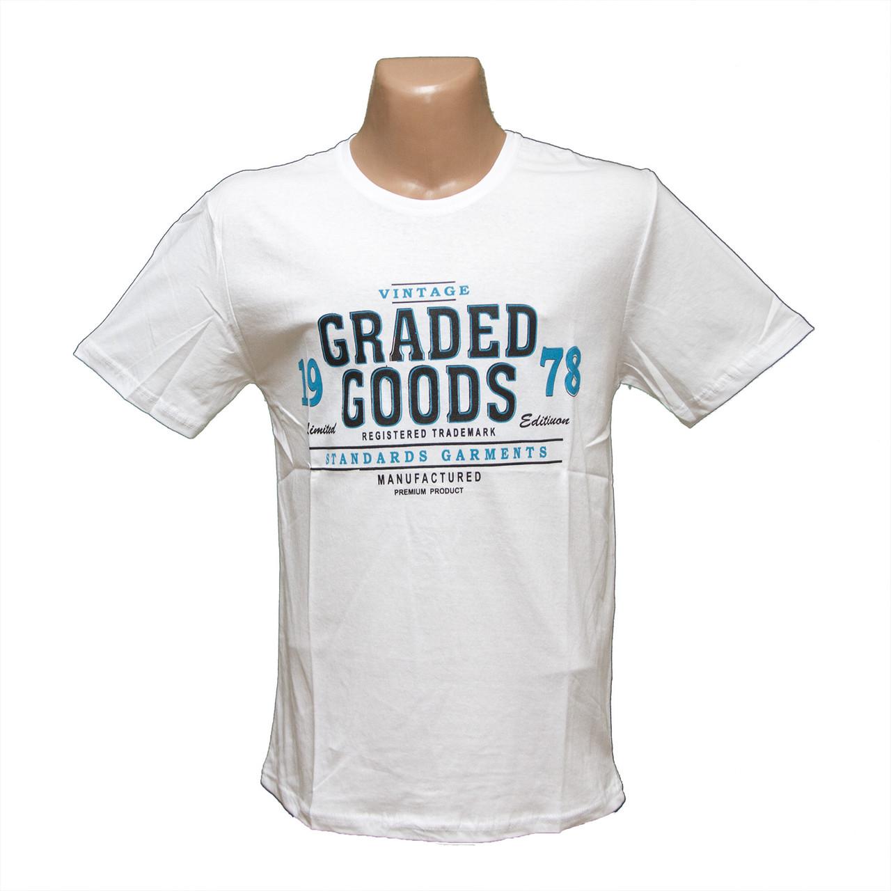 21adfc66267 Мужская белая батальная футболка оптом Турция 7805-5 оптом и в ...