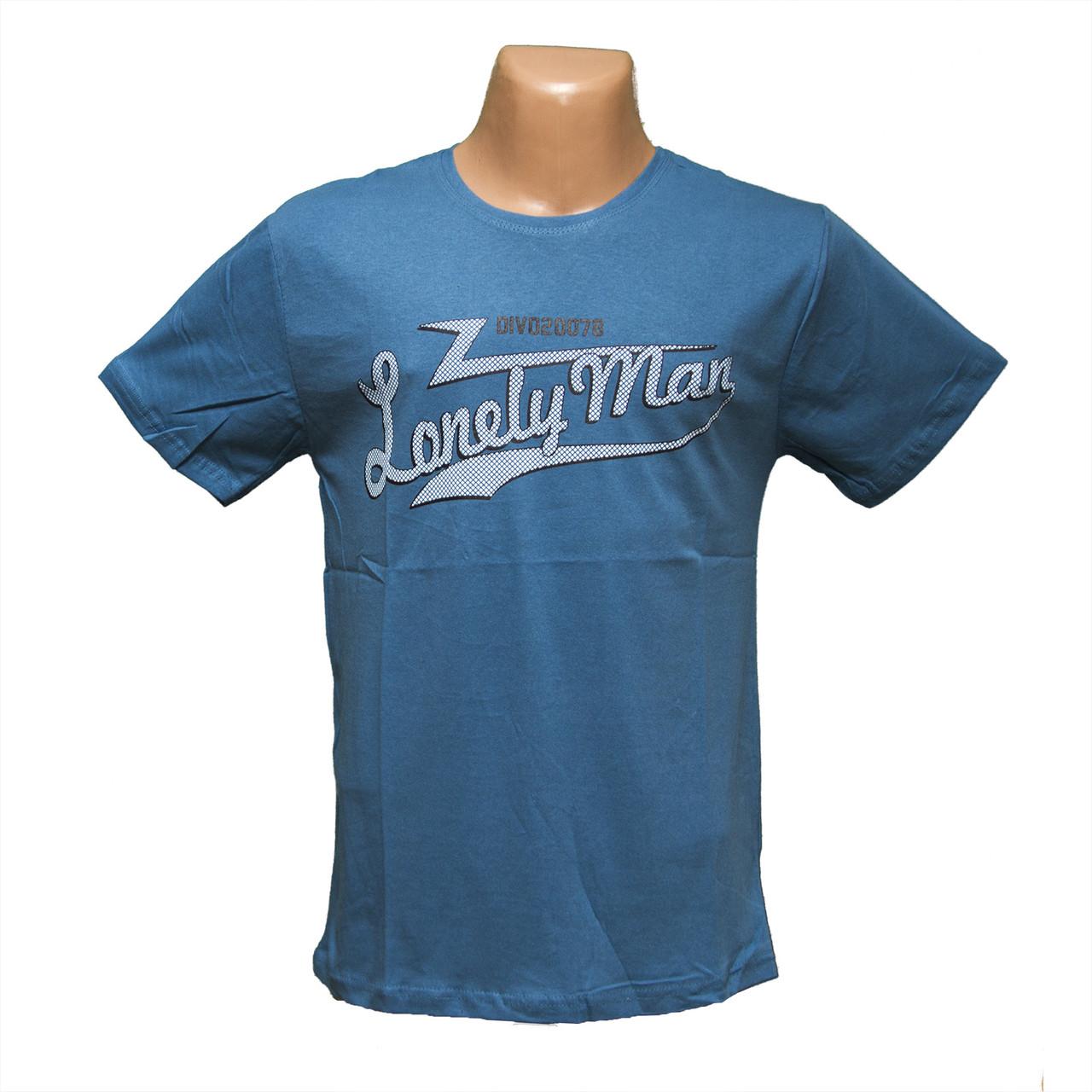 Мужская летняя футболка оптом большие размеры Турция 7807-4