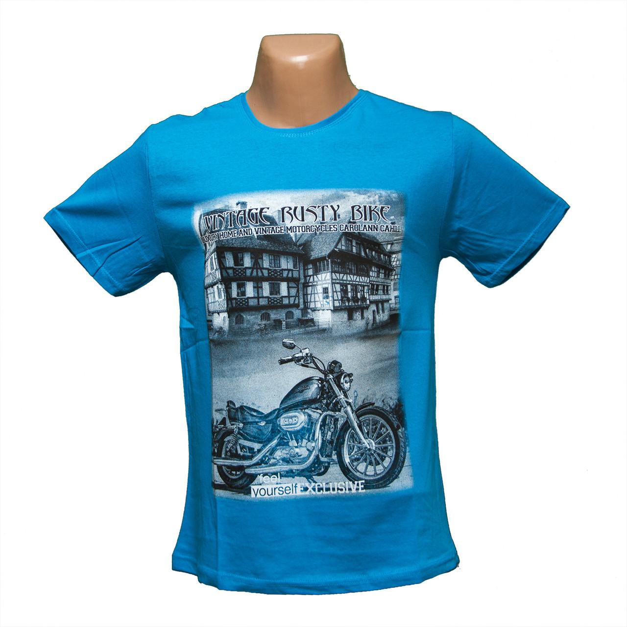Мужская футболка великан новые модели Турция 7810-3