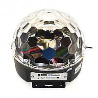 Светодиодный диско-шар LED Magic Ball Bluetooth MP3