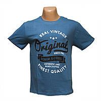 """Мужская футболка """"Original"""" батальные размеры по низким ценам Турция 7815-6"""