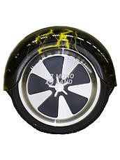 Гироцикл Cигвей Balance Wheel цвет Желтая молния, фото 3