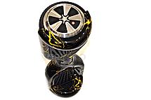 Гироцикл Cигвей Balance Wheel цвет Желтая молния, фото 2