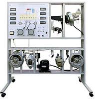 Стенд лабораторный Гидравлическая тормозная система автомобиля с антиблокировочной системой торможения (ABS)