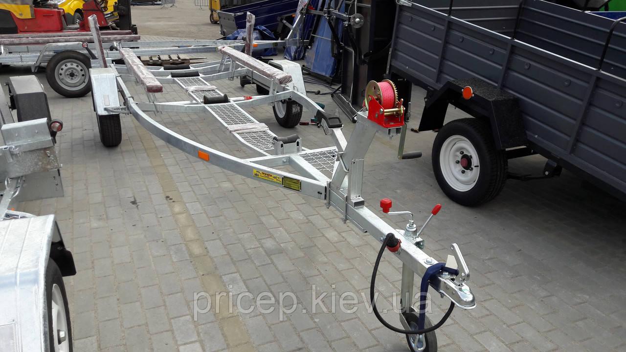 Лодочные лафеты от производителя. Для катеров до 4,2-4,6м до 750кг. Цинк.