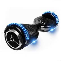 Гироскутер черного цвета SmartWay , фото 3