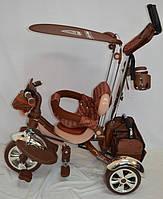 Велосипед трехколесный Lexus-Trike LX-600 Шоколадный