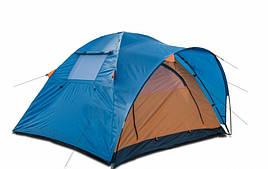 Туристическая палатка трехместная двухслойная Coleman1014