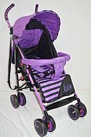 Прогулочная детская коляска-трость Sigma  BYW-312. Фиолетовая, фото 1