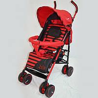 Прогулочная детская коляска-трость Sigma  BYW-312. Красная