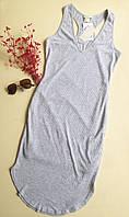 Стильное серое платье-майка H&M