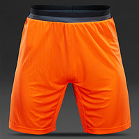 Шорты спортивные мужские adidas adizero Training AB1280 (оранжевые, полиэстер, тренировочные, логотип адидас)