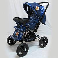 Прогулочная детская коляска Sigma H-T(WFS)-D с мягким матрасиком.