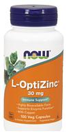 Оптицинк,Now Foods, L-Optizinc 100 caps