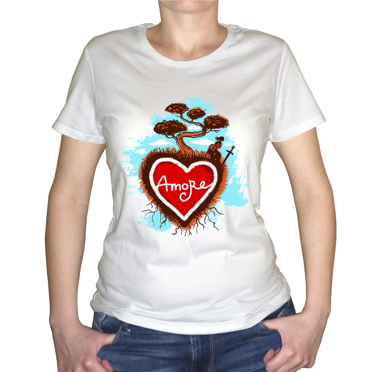 """Женская футболка """"Amore"""""""