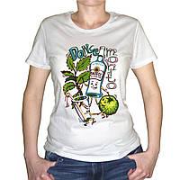 "Женская футболка ""Dance mohito"""