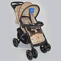 Прогулочная детская коляска Sigma YK-8F с мягким матрасиком., фото 1