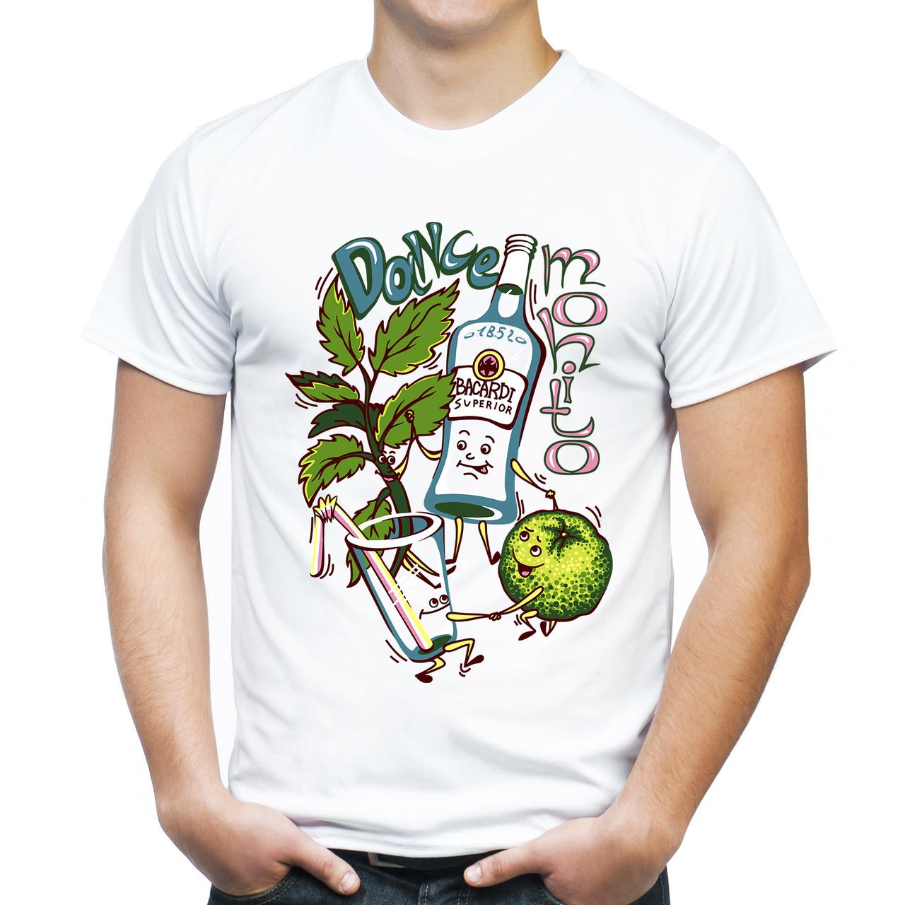 "Мужская футболка ""Dance mohito"""