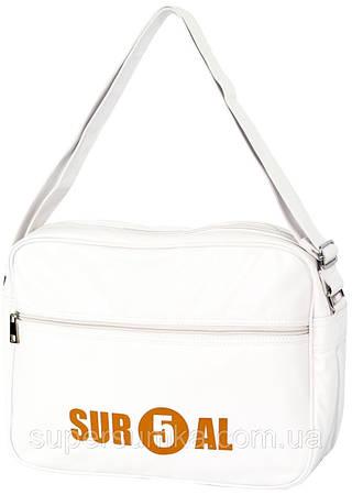 Молодежная сумка горизонтальная из кожзама Daniel Ray 43,000305 белый
