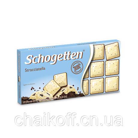 Шоколад Schogetten Stracciatella 100 г (Германия)