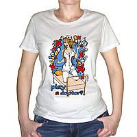 "Женская футболка ""Play a doctor"""