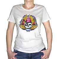 "Женская футболка ""Don`t fuck my brain"""