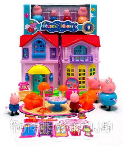 Домик Свинки Пеппы Peppa Pig #5805А музыкальный.