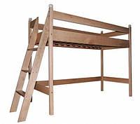 Кровать чердак Babygrai из бука