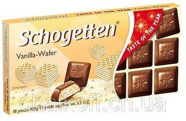 Шоколад Schogetten Vanilla-Wafer 100 г (Германия)