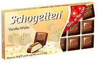 Шоколад Schogetten Vanilla-Wafer 100 г (Германия), фото 1