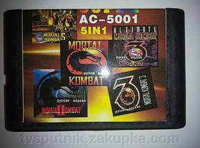 Катриджи Sega 16 bit