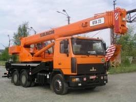 Автокран КТА-35 «СИЛАЧ» на шасси МАЗ
