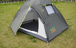 Палатка Coleman двухместная двухтеновая Green Camp 1001A