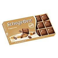 Шоколад Schogetten Cappuccino 100 г (Германия), фото 1