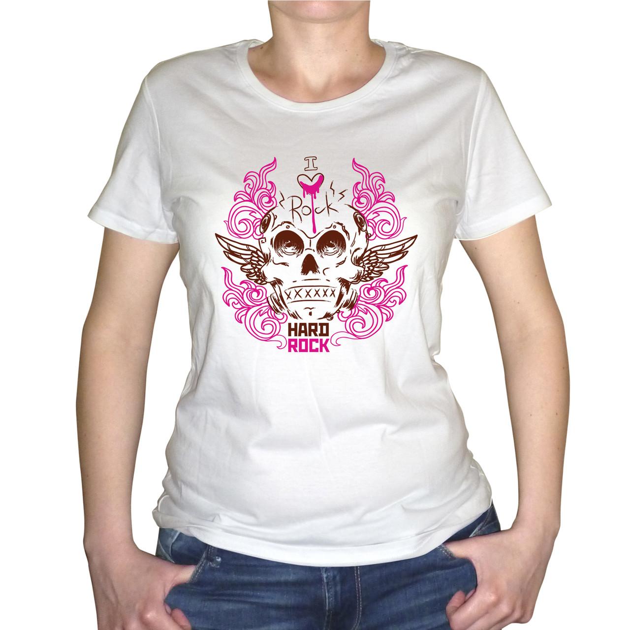 """Женская футболка """"Hard rock"""""""