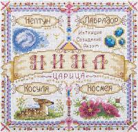 """Набор для вышивки крестом """"Panna"""" Именной оберег. Нина СО-1677"""