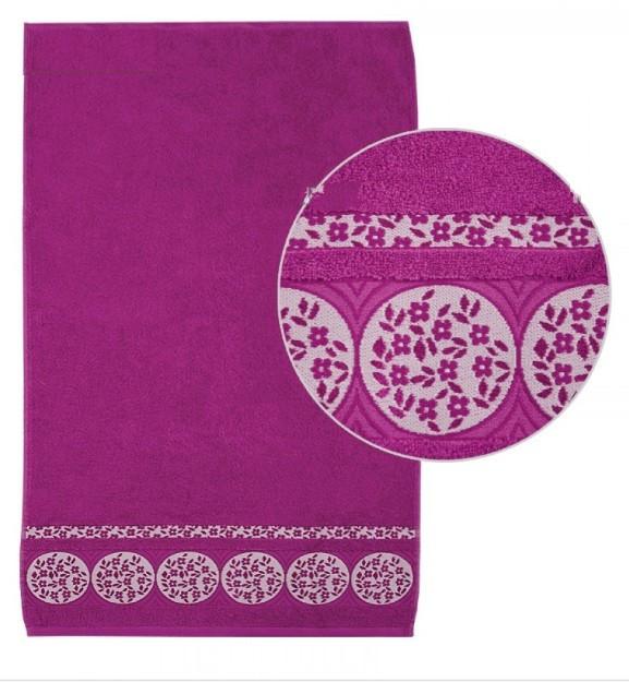 Махровое полотенце диз.101 ТМ Ярослав, 50х90 см