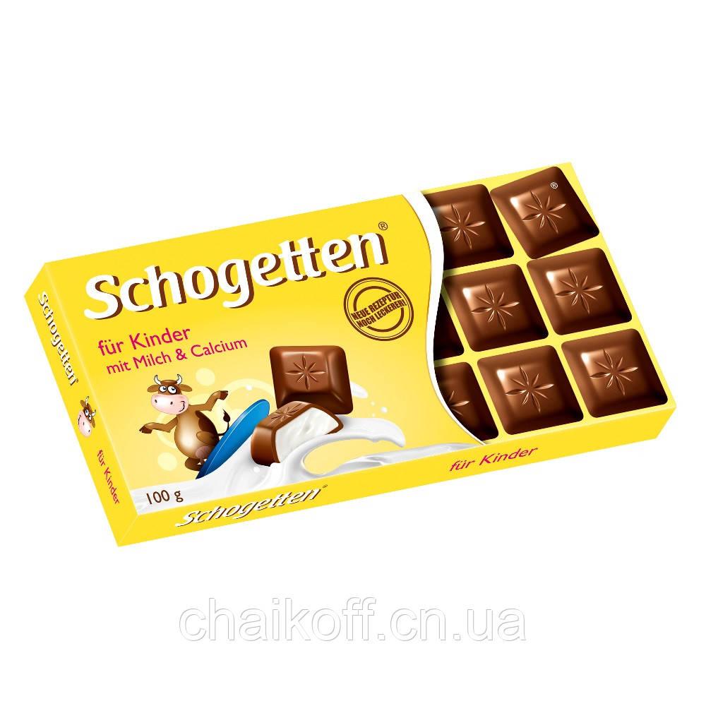 Шоколад Schogetten  for Kids 100 г (Германия)