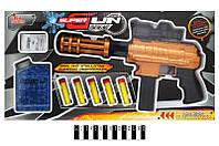 Детский пистолет ХН085-1 стреляющий водяными шариками пулями