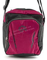 Удобная маленькая тканевая мужская сумочка art. 003 розовая Турция